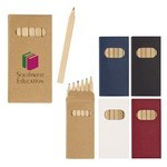 Picture of Custom-made 6-Piece Colored Pencil Set