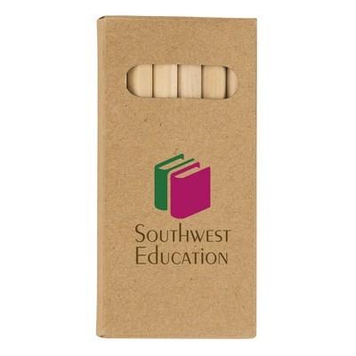 Custom-made 6-Piece Colored Pencil Set