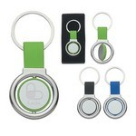 Picture of Circular Metal Spinner Key Tag