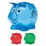 Picture of Mini Plastic Piggy Bank