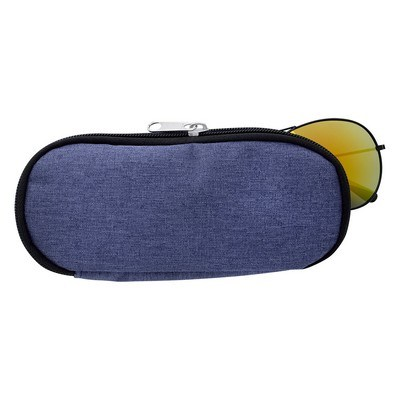 Promotional Zippered Glasses Puch