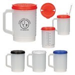 Picture of 20 Oz. Medical Tumbler with Measurements