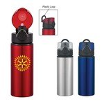 Picture of 25 Oz. Aluminum Sports Bottle With Flip Top Lid