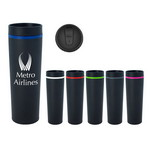 Picture of 16 Oz. Stainless Steel Milan Tumbler