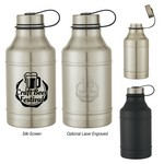 Picture of 64 Oz. Stainless Steel Wide-Mouth Growler