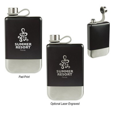Promotional 8 Oz. Maverick Flask