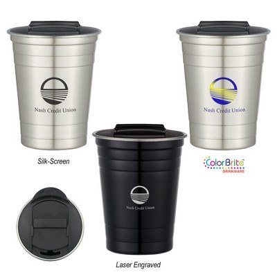 The 16 Oz. Stainless Steel Cup