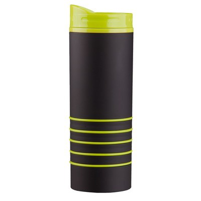 16 Oz Rubber Coated Tumbler