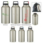 Picture of 64 Oz. Rover Stainless Bottle with Carabiner Clip