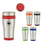 Picture of 15 Oz. Stainless Steel Aspen Tumbler