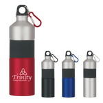 Picture of 25 Oz. Two-Tone Aluminum Bottle With Rubber Grip