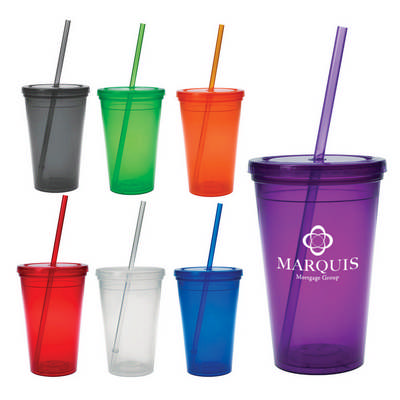 16 Oz. Economy Double Wall Tumbler