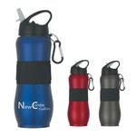 Picture of 28 Oz. Stainless Steel Sport Grip Bottle