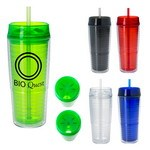 Picture of 20 Oz. Luna Tumbler With Straw