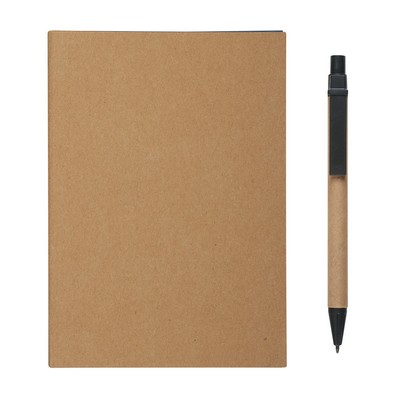 Logo Printed MeetingMate Notebook with Pen and Sticky Flags
