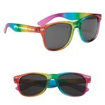 Picture of Custom Rainbow Malibu Sunglasses