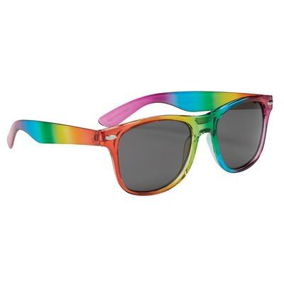 Custom Rainbow Malibu Sunglasses