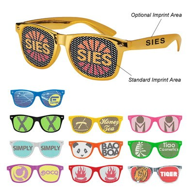 Retro Specs with Lens Stickers