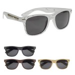 Picture of Promotional Designer Collection Woodtone Malibu Sunglasses