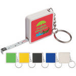 Picture of Square Tape Measure Key Tag