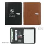 "Picture of Eclipse Bonded Leather 8 ½"" X 11"" Zippered Portfolio"