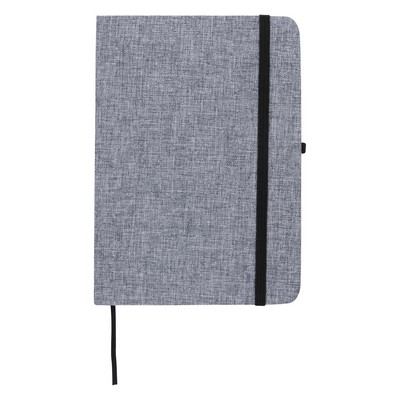 "Customizable 5"" x 7"" Heathered Journal"