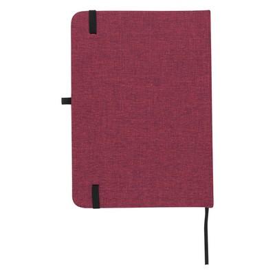 "Customizable 5"" x 7"" Heathered Journal"