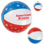 "Picture of Custom 16"" USA Beach Ball"