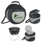 Picture of Personalized Portable BBQ Grill and Kooler