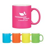 Picture of 11 Oz . Neon Mug With C-Handle