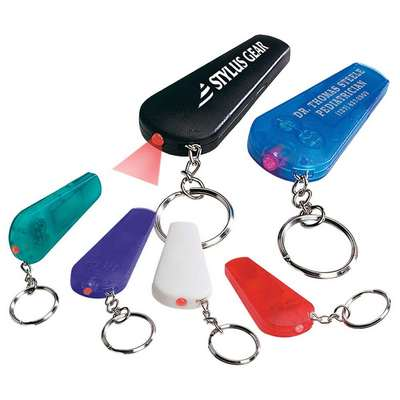 Whistle and Light with Key Chain