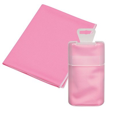 Sports Towel in Plastic Case