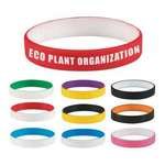 Picture of Colored Letter Silicone Bracelet