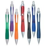 Picture of Rio Ballpoint Pen With Contoured Rubber Grip