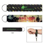 Picture of Custom Neoprene Wristband With Key Ring