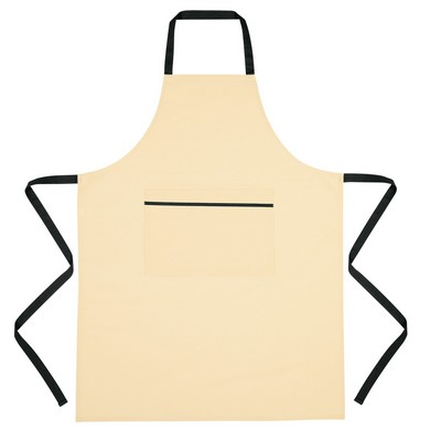 Logo Printed Cotton Cooking Apron - Embroidered