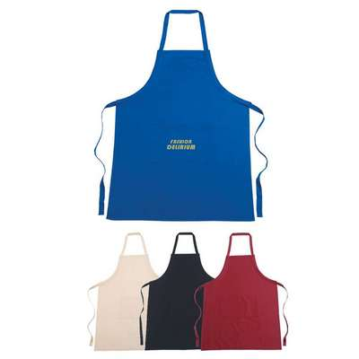 100% Cotton Apron - Embroidered