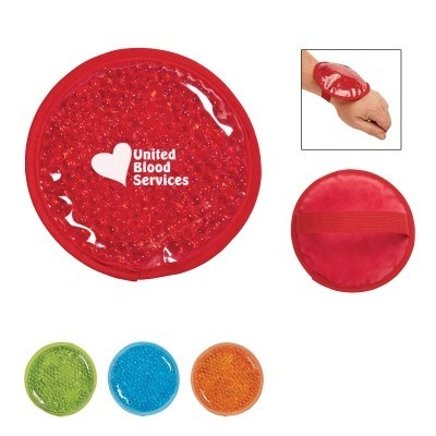 Plush Small Round Gel Beads Hot and Cold Pack