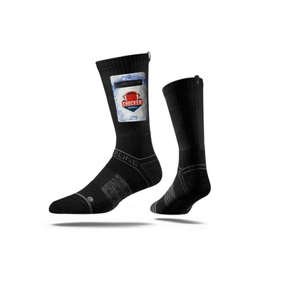 STRIDELINE Premium Utility Pocket Crew Sock