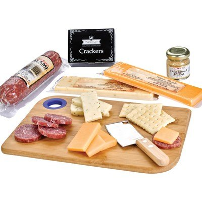 Set Charcuterie Favorites Board w/ Meat & Cheese Set