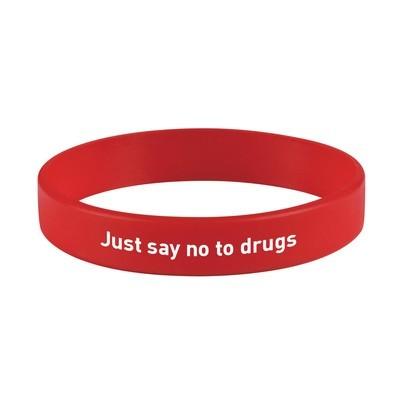 Anti-Drug Silicone Bracelet