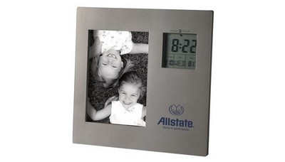 Picture This Picture Frame with Clock