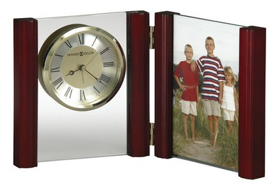 Alex Clock and Picture Frame - Laser Engraved