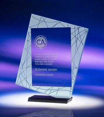 Direction Large Jade Crystal Award