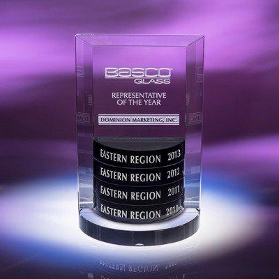 Status Perpetual Optic Crystal Award