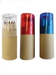 Picture of Color Pencil Set in Tube with Sharpener