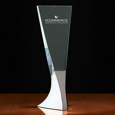 Tembre I Large Tapered Crystal Tower