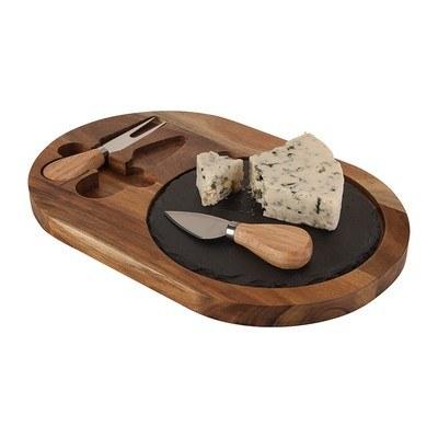 Bon Appetit Slate Cheese Set