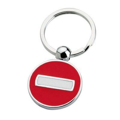 Tra No Entry Keychain