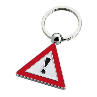 Tra Exclamation Keychain
